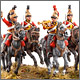 British Guard dragoons, 1815