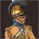 Officer, «Guadre du Coeur» regt., Saxony, 1810-13