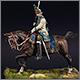 Grenadier officer, Holstein contingent, Russia, 1755-62