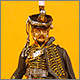 Senior officer, Irkutsky Hussars, 1813-14
