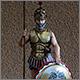 Athenian hoplite, 5 B.C.