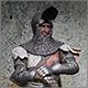 Teutonic knight, XIV cent.