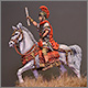 Mounted Roman warlord, I A.D.