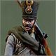 Fusilier, 2nd Hiller regt. Austria, 1812