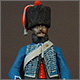 French hussar, elite coy, 8th regt., 1808