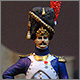 French officer, Guard foot grenadiers, 1809