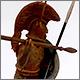 Romano-etruscan warrior, circa 600 BC