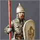 Russian warrior, XV-XVI cent.