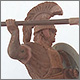 Roman-etruscan warrior, 600 B.C.