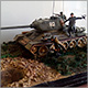 T-34/85 with infantry