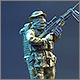 Bundeswehr sniper in Afghanistan