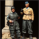 German paratroopers. Crete, 1941