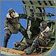 Waist gunner down! Europe 1943