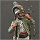 Private, Catalonian light infantry, Spain, 1807-08