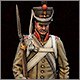 Russian grenadier in greatcoat, 1812-14