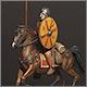 Roman cavalry, 4 AD