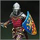 German knight, XIV cent.