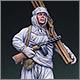 Soviet ski trooper