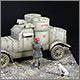 Austin armoured car, Red Army