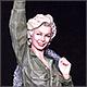 Marilyn Monroe. Korea, 1954