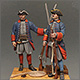 Marine soldiers of Peter the Great