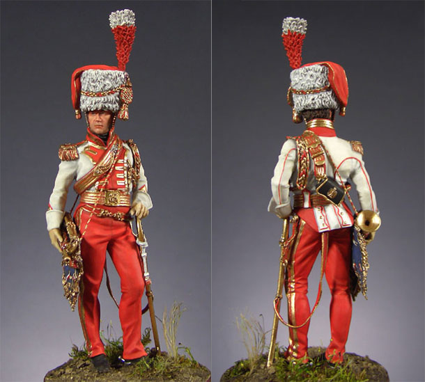 Figures: Trumpeter, 2nd Lancers of the Imperial Guards, 1810-1815