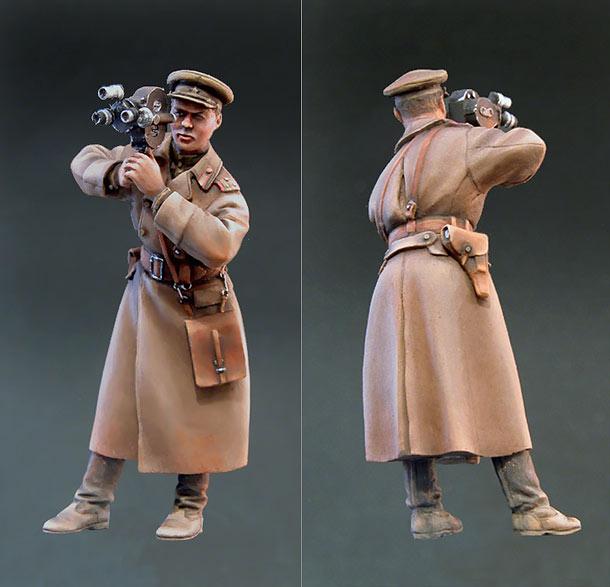 Figures: Soviet military cameraman, 1943-45