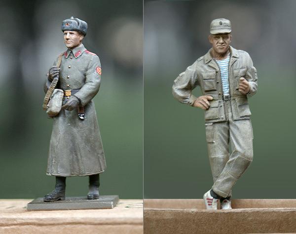 Figures: Soviet Soldiers