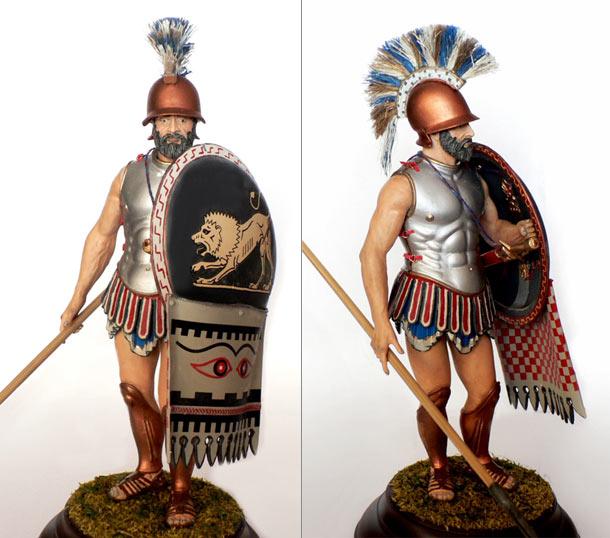 Figures: Greek Hoplita