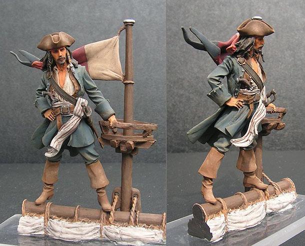 Figures: Captain Jack Sparrow