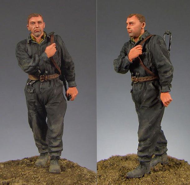 Figures: Soviet tank crewman, 1941