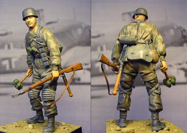 Figures: Waffen-SS Fallschirmjaeger
