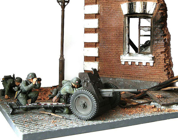 Dioramas and Vignettes: Street fight, Pribaltika. summer 1941