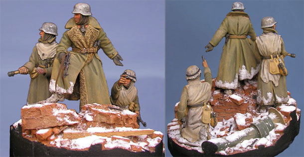 Dioramas and Vignettes: The last ones. Stalingrad, 1943