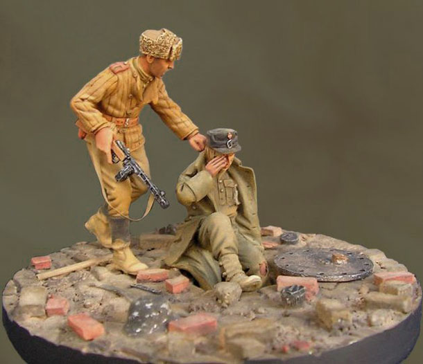 Dioramas and Vignettes: Get out, Fritz!