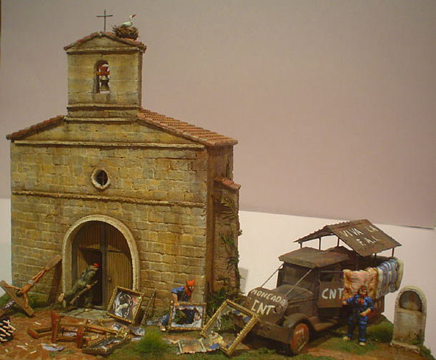 Dioramas and Vignettes: Hot summer of 1936