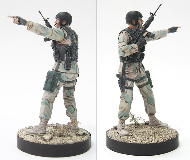 Figures: Delta Force soldier