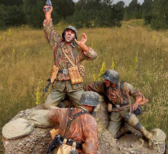 Dioramas and Vignettes: Kursk bulge, 5 july 1943