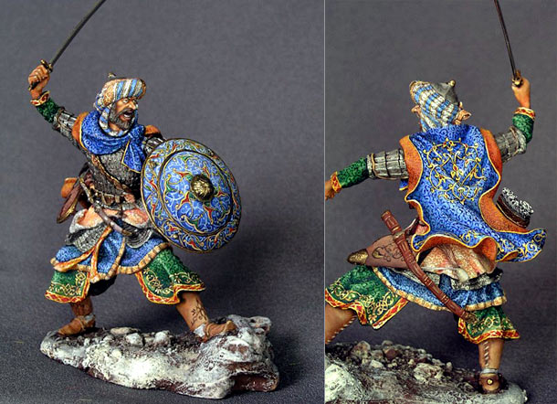Figures: Saracen warrior, XI-XIV AD