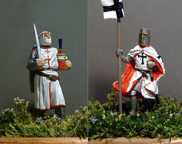 Figures: Teutonic Order Knights