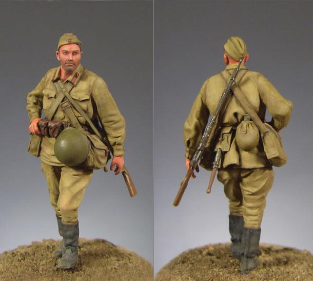 Figures: Soviet infantryman, 1941