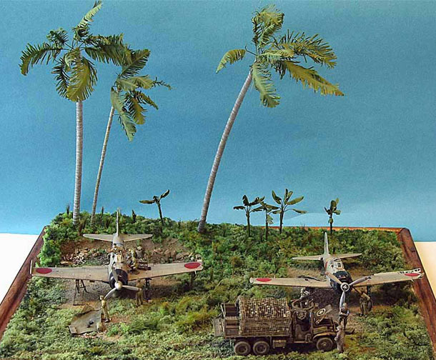 Dioramas and Vignettes: Trophy team. Rabaul, 1944
