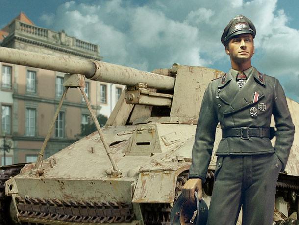 Figures: German SPG Commander