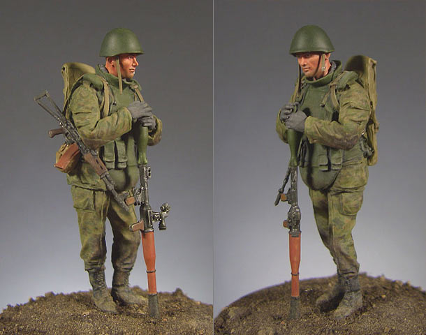 Figures: Russian soldier with RPG