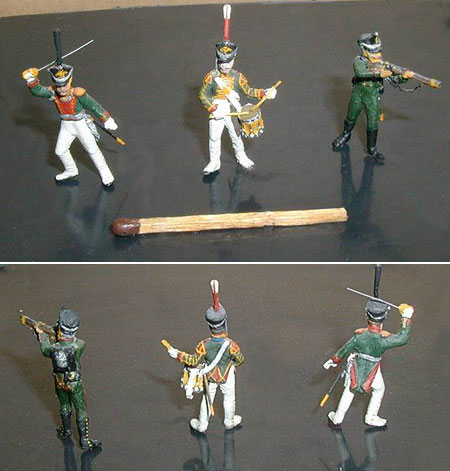 Figures: Russian Soldiers, 1812, photo #2