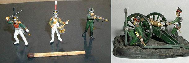 Figures: Russian Soldiers, 1812