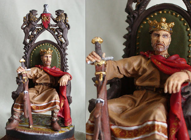 Figures: King Arthur