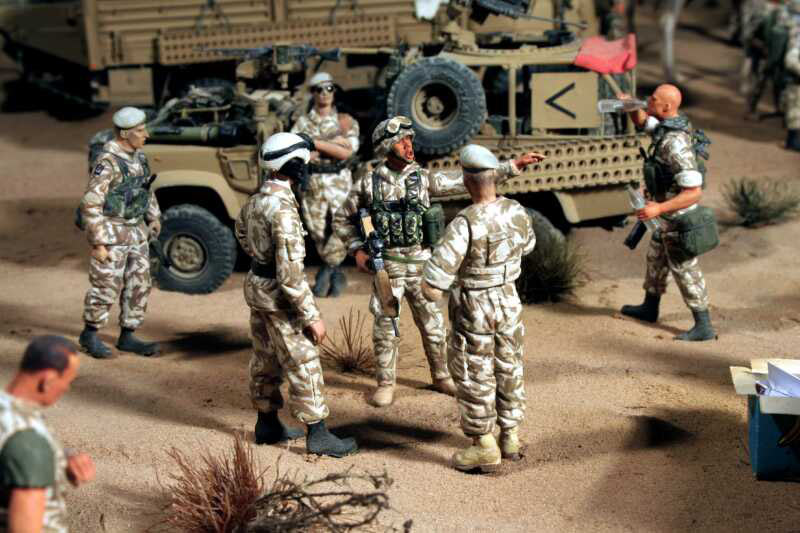 Dioramas and Vignettes: Lucky War, photo #4