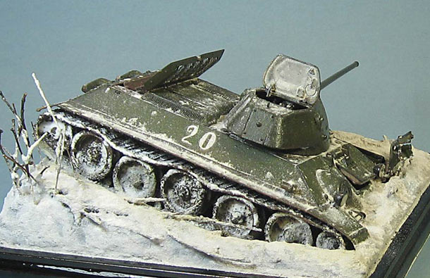 Dioramas and Vignettes: T-34/57