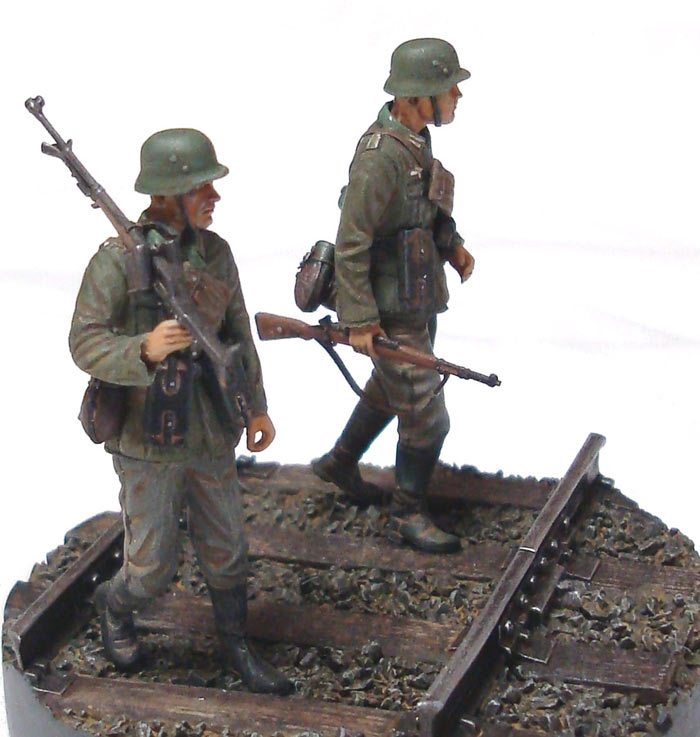 Dioramas and Vignettes: German tank hunters, photo #1